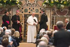 Papa Francesco riceve il Premio Carlo Magno 2016