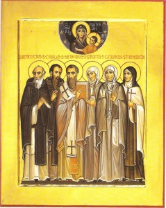 Icona dei Santi Patroni d'Europa